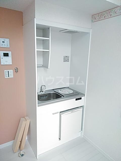 ユナイト新川崎フィルミーノの杜 207号室のキッチン
