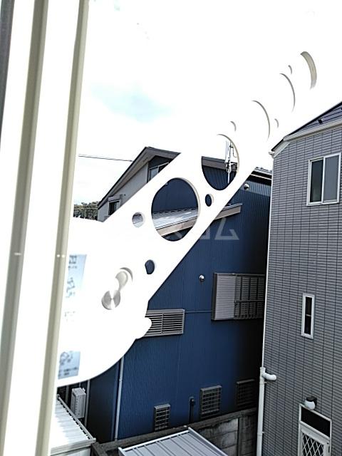 ユナイト新川崎フィルミーノの杜 207号室のバルコニー