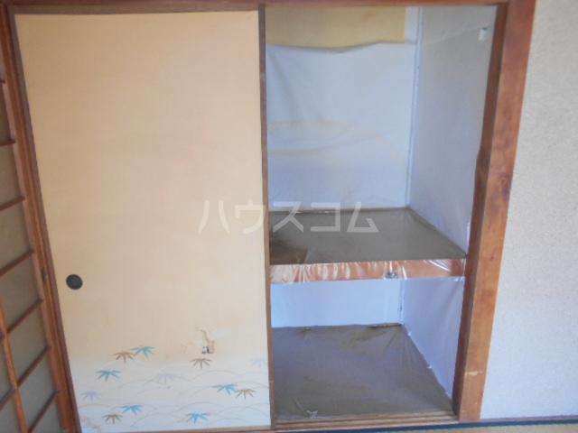 日の出荘 6号室の収納