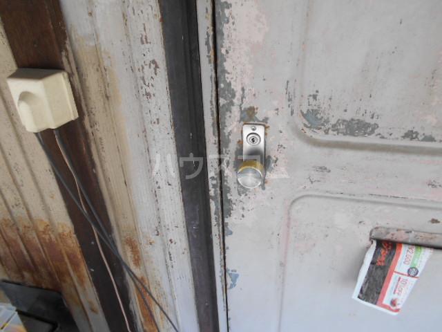 日の出荘 6号室の玄関