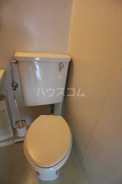 LAPUTA Ⅰ 203号室のトイレ