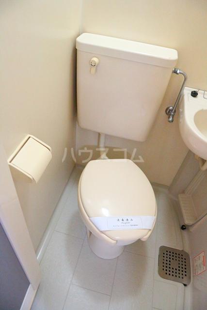 コンフォートマンション北戸田 525号室のトイレ