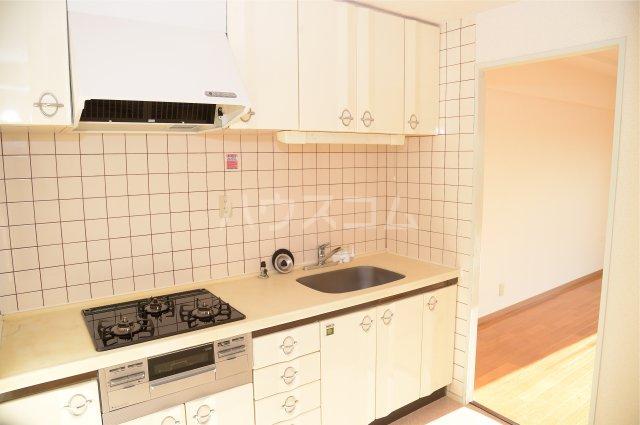 蕨スカイマンション 608号室のキッチン