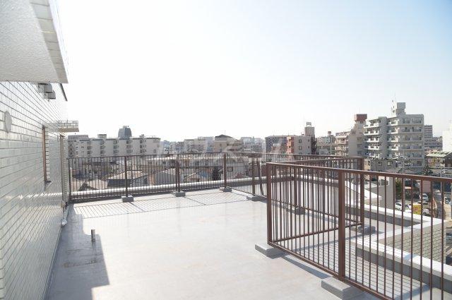 蕨スカイマンション 608号室の景色