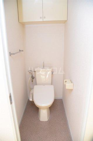 蕨スカイマンション 608号室のトイレ