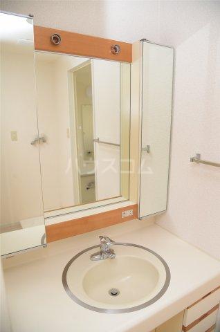 蕨スカイマンション 608号室の洗面所