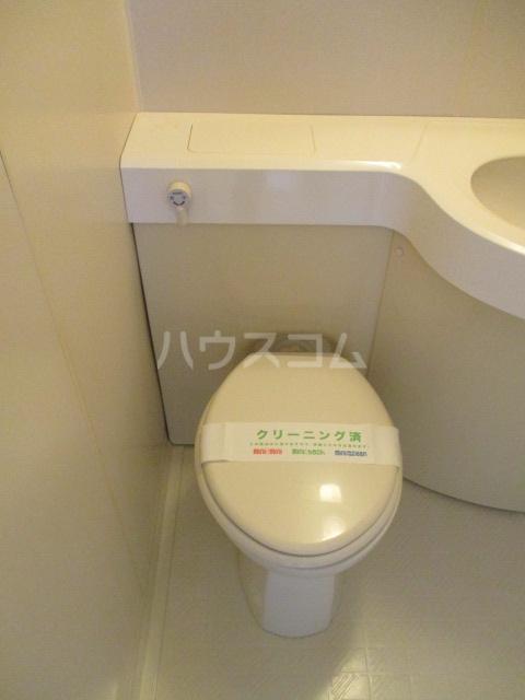 ジュン井荻 203号室のトイレ
