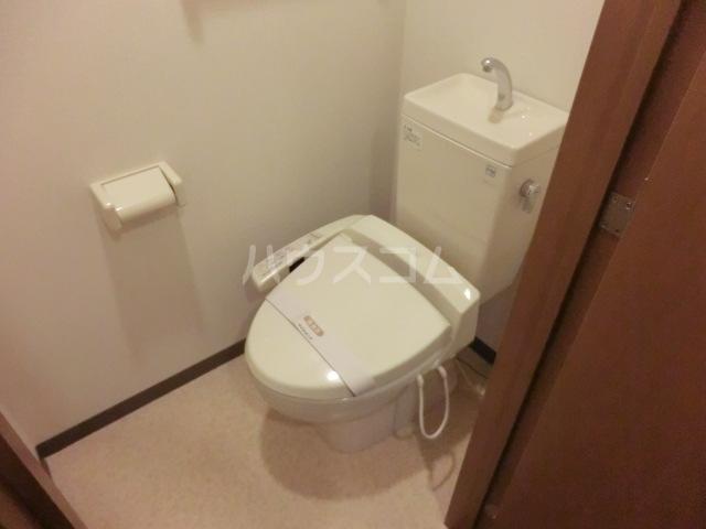 プランドール 305号室のトイレ