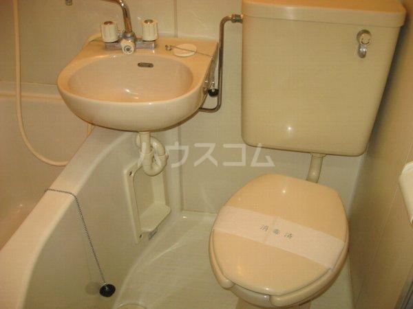 サンクレスト 401号室のトイレ
