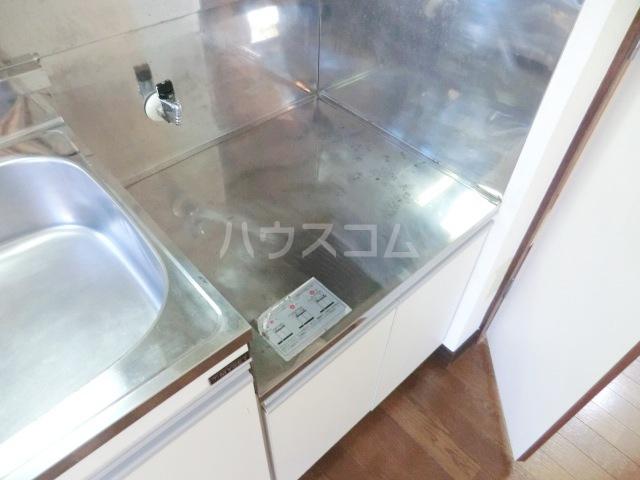 ロイヤル・タカラⅡ 201号室のキッチン