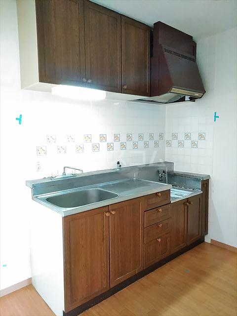 リバーサイドパーク 503号室のキッチン