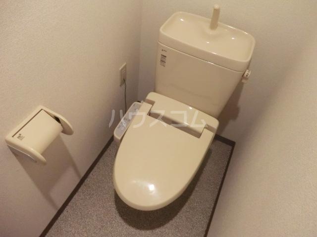 北浦和ヒルズ 101号室のトイレ