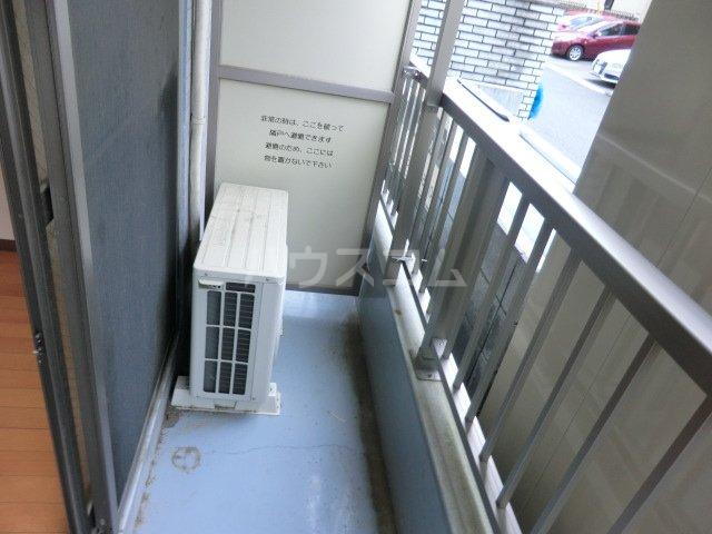 北浦和ヒルズ 101号室のバルコニー