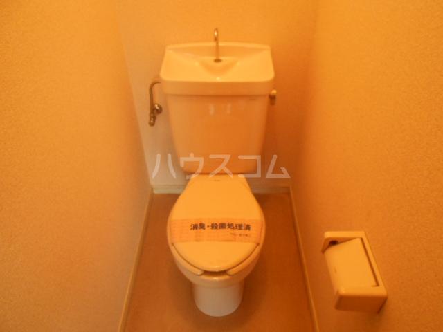 埼大前小鳩ハイツ 桜草 205号室のトイレ