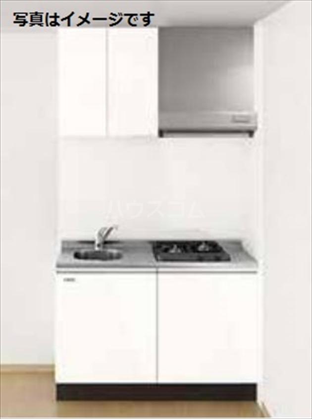 RIREA 鹿手袋 203号室のキッチン
