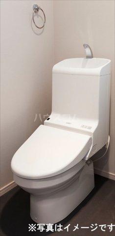 RIREA 鹿手袋 203号室のトイレ