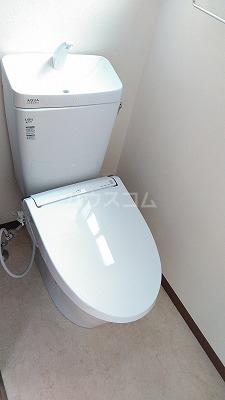 アメニティガーデン新中里 301号室のトイレ