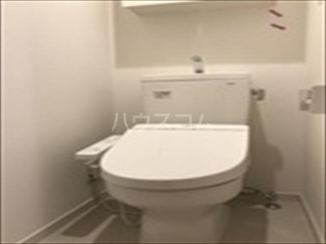 リブリ・TRIPOLISⅢ 202号室のトイレ