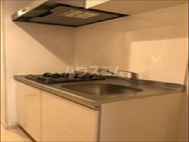 リブリ・TRIPOLISⅢ 203号室のキッチン