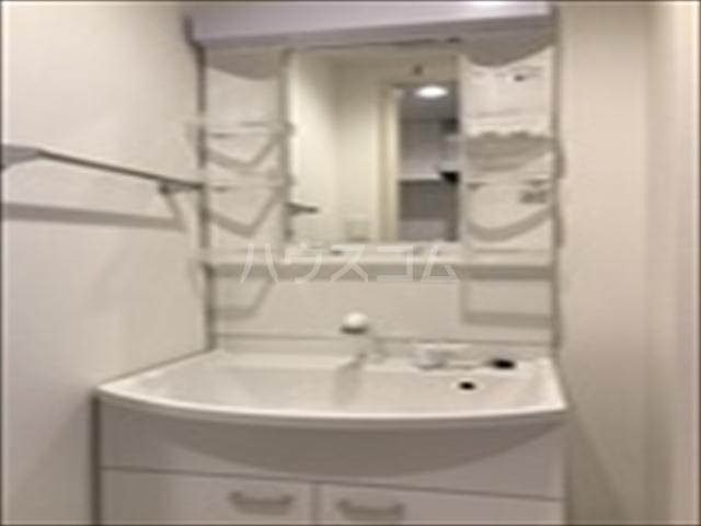 リブリ・TRIPOLISⅢ 203号室の洗面所
