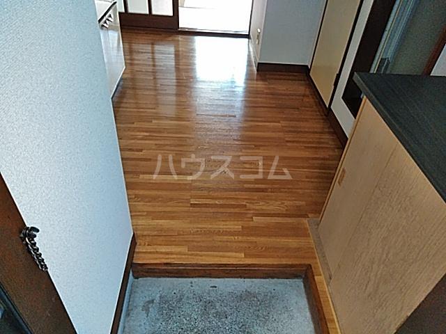 第2フラッツ京明 204号室の玄関