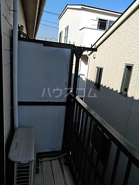 第2フラッツ京明 204号室のバルコニー