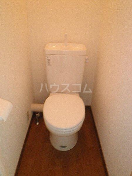 エルム国分寺 218号室のトイレ