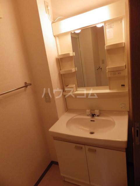 サン・ボヌール 201号室の洗面所