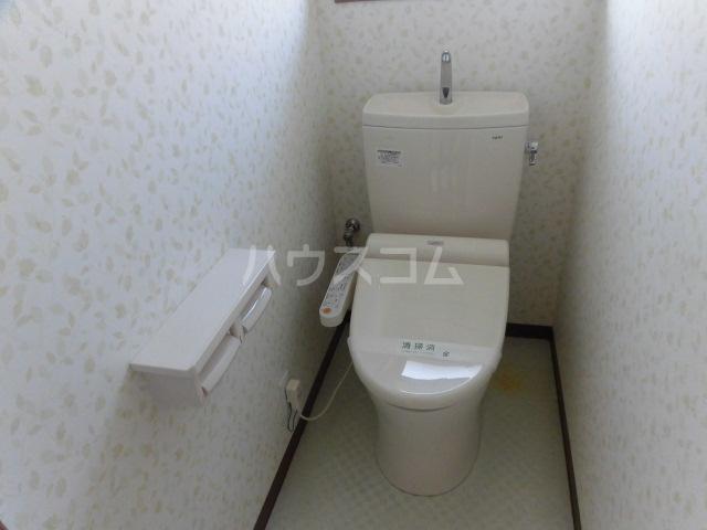 マイホーム柴崎2 201号室のトイレ
