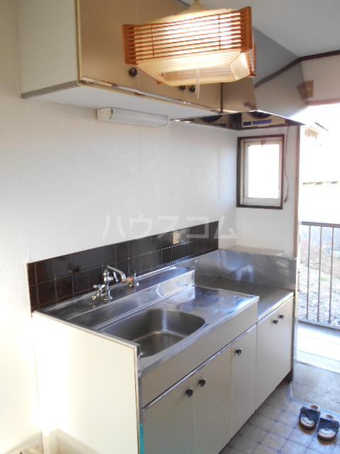 フラット津久井 201号室のキッチン