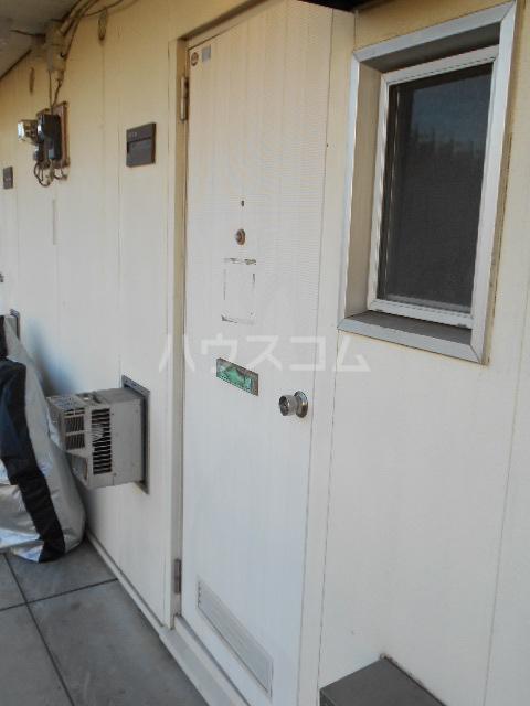 フラット津久井 201号室のセキュリティ