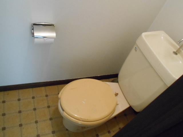 フラット津久井 203号室のトイレ