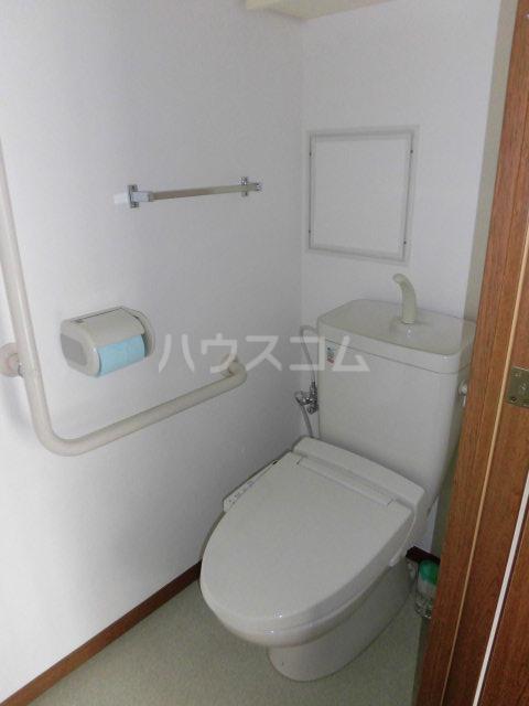 レールシティ八王子かえで通り 605号室のトイレ