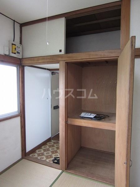 うるま荘 207号室の収納