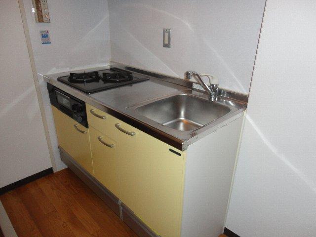グランディール嵯峨 212号室のキッチン