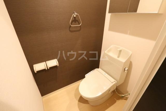 セレブ・ペティア 205号室のトイレ