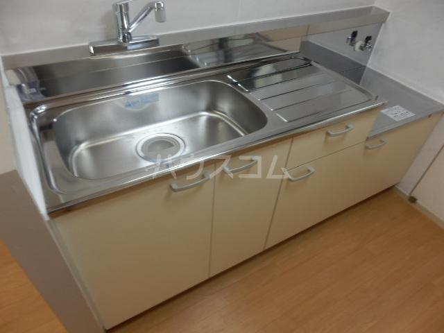 第5昭栄マンション 401号室のキッチン