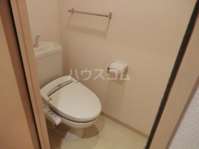 イヴェール 202号室のトイレ