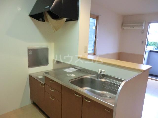 イヴェール 202号室のキッチン