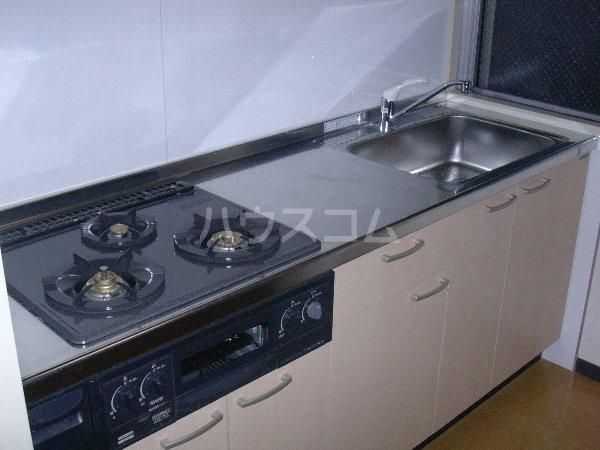 西沢マンション 102号室のキッチン