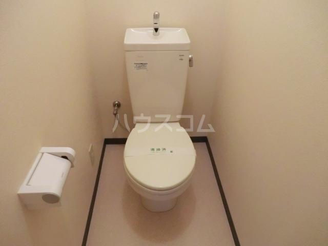 西沢マンション 102号室のトイレ