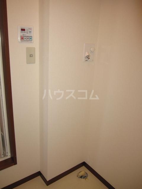 グレイスピュア 106号室の洗面所