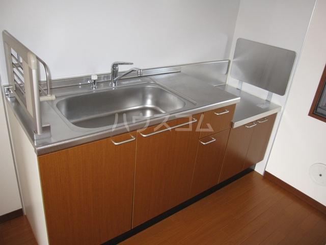 グレイスピュア 106号室のキッチン