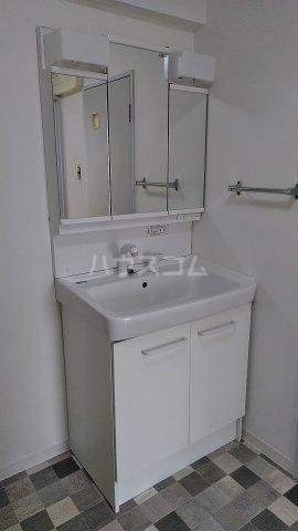 ラ・アミスタ武蔵浦和 406号室の洗面所