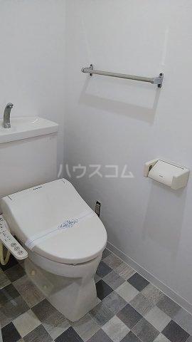 ラ・アミスタ武蔵浦和 406号室のトイレ