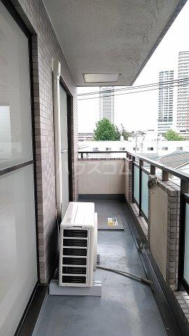 ラ・アミスタ武蔵浦和 406号室のバルコニー