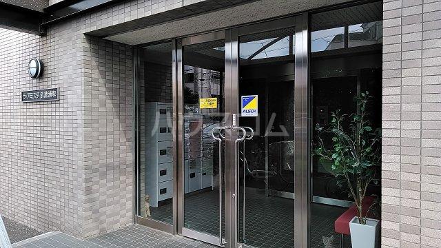 ラ・アミスタ武蔵浦和 406号室のエントランス