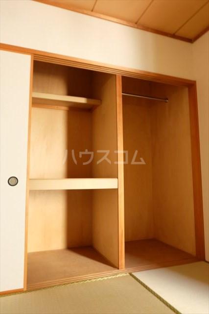 桜フラッツ 202号室の収納