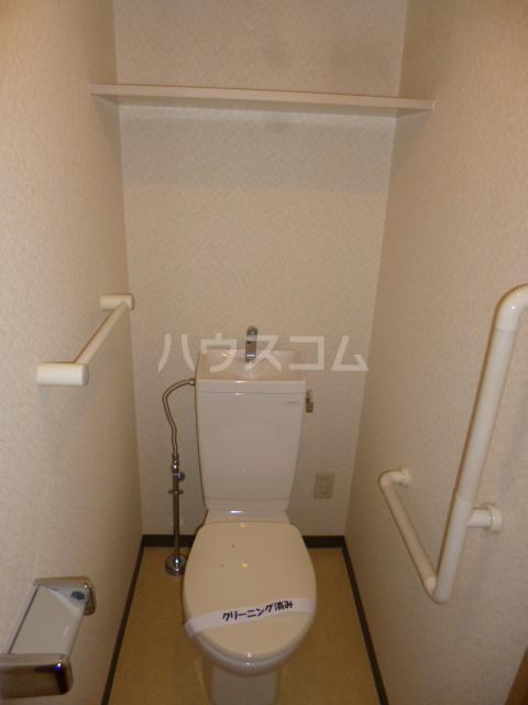 クィーンズ・ヴィラ武蔵浦和 205号室のトイレ