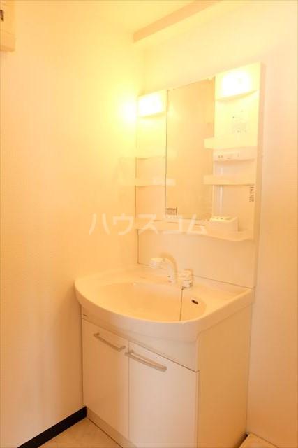 カーネスマンション 301号室の洗面所
